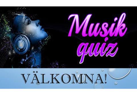 Musik-quiz, måndag 15/1