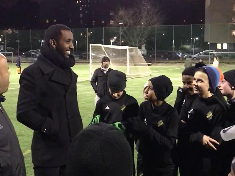 Småspelarna intervjuade AIK:s Henok Goitom