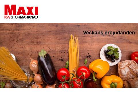 Veckans reklamblad 53 från ICA Maxi  Motala