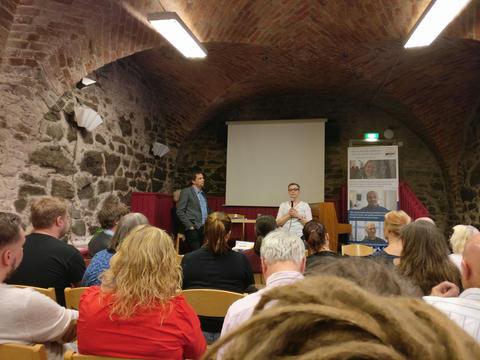 Årsmötet för Sveriges Fontänhus Riksförbund